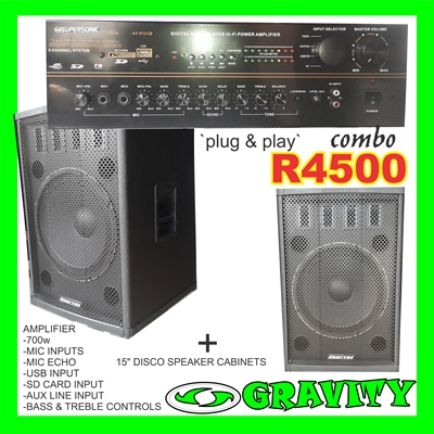 DJ STARTER KIT DJ EQUIPMENT LINERTEC DJ KIT DURBAN 0315072463 GRAVITY DJ STORE