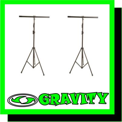 DISCO LIGHTING STANDS - DISCO * DJ * P.A. EQUIPMENT - GRAVITY -
