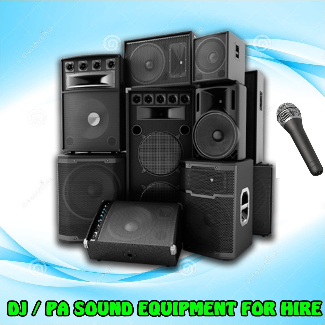 Sound Dj Equipment For Dry Hire From Our Most Affordable Deal Hiring Of Pa
